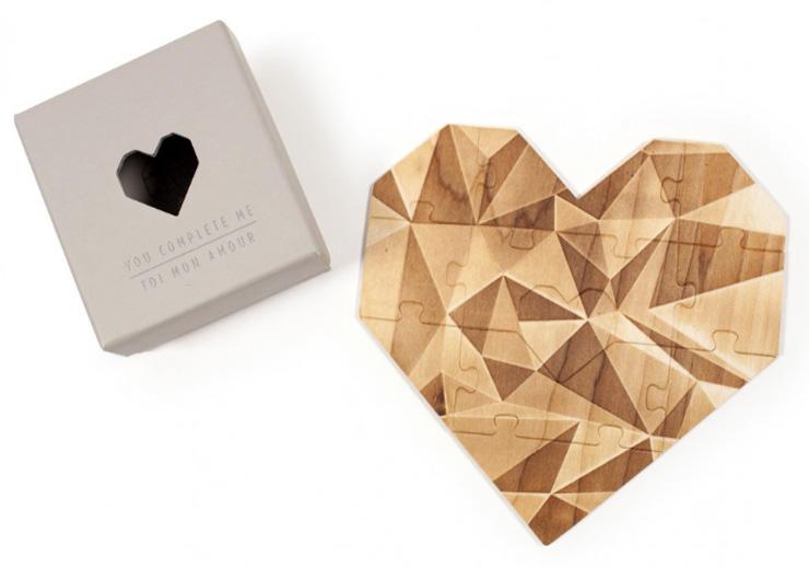 moederdag cadeau hart puzzel