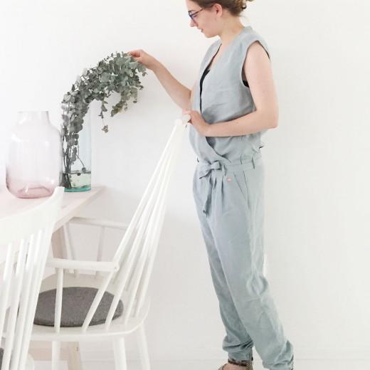 OOTD Marike jumpsuit mintgroen eucalyptus