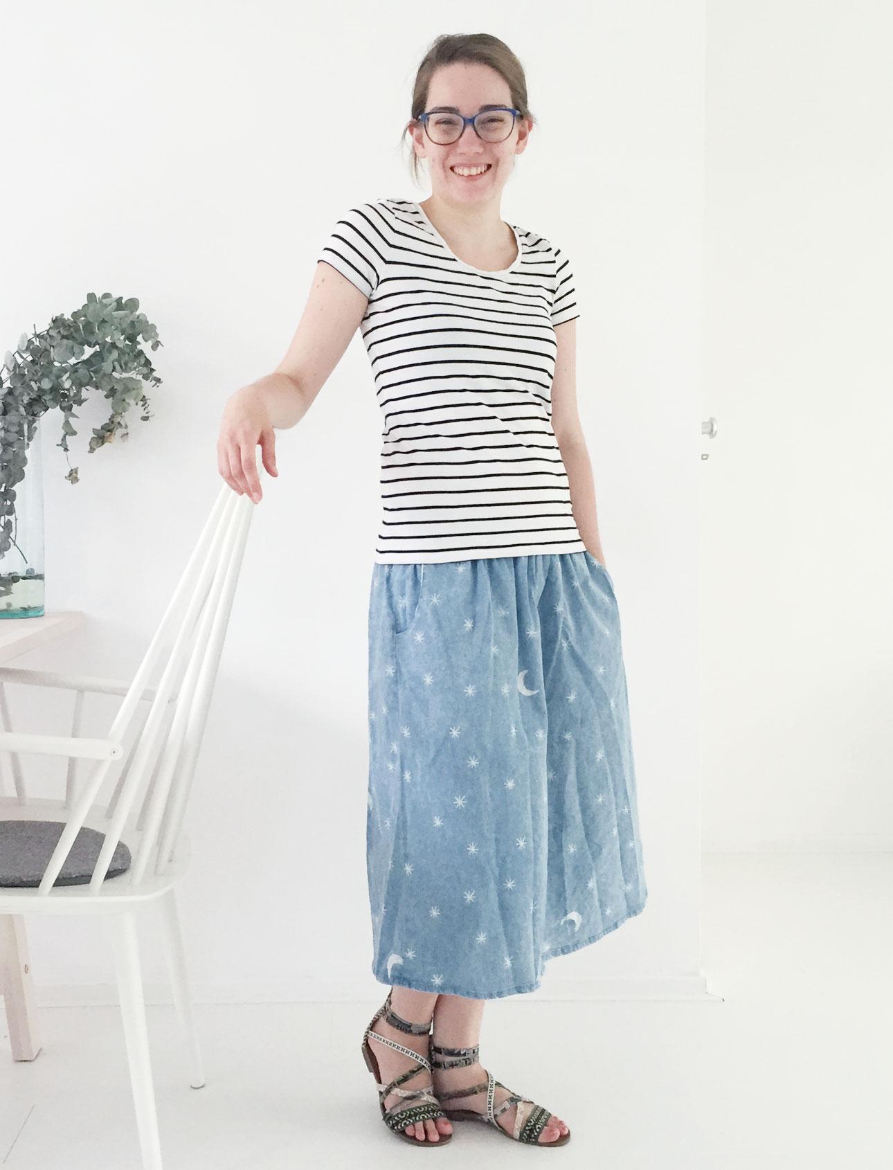 OOTD Marike stars stripes lach