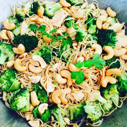 One pot noodles - Uit pauline's keuken kookboek