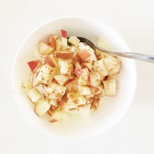 appeltaart yoghurt