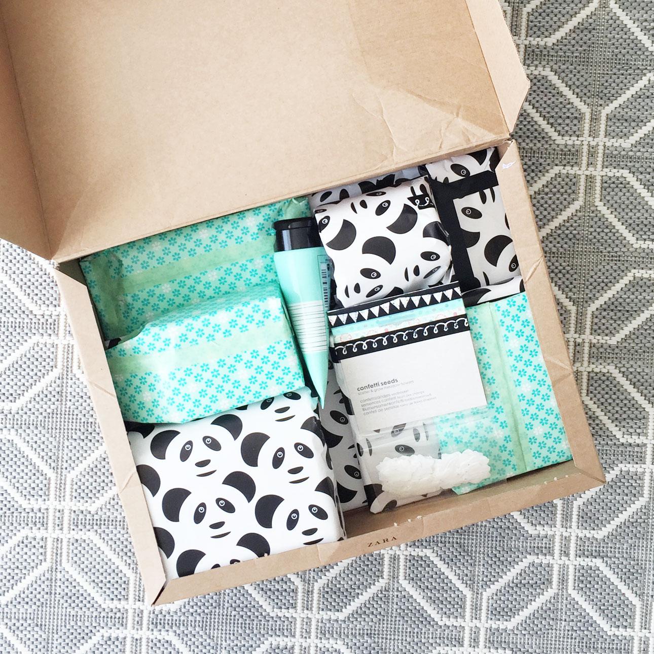 styleswapnl pakket cadeautjes ingepakt