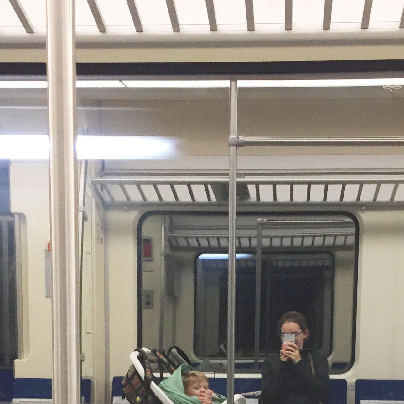 Mamalifestyle juni 2016 trein