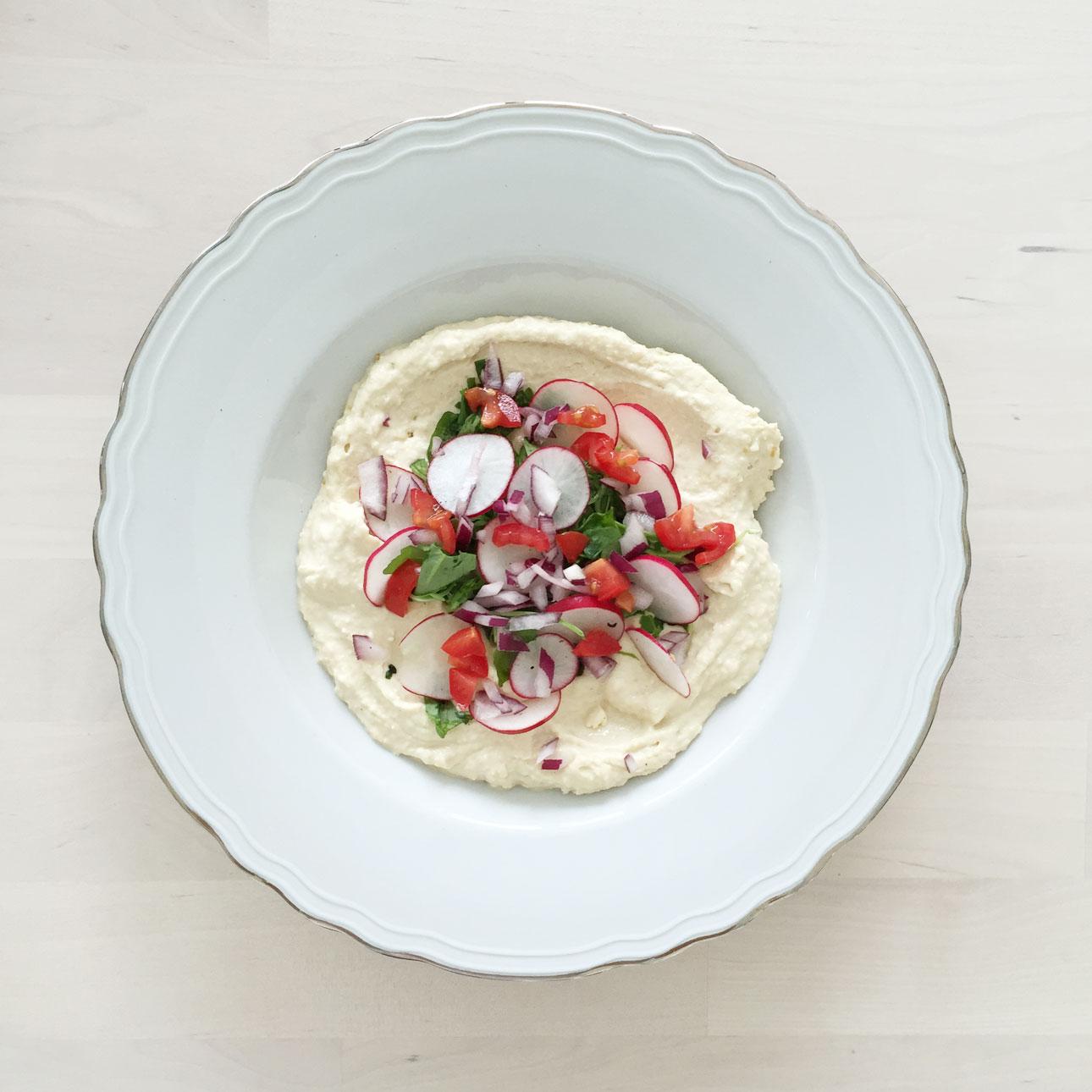 gevulde hoemoes loaded humus