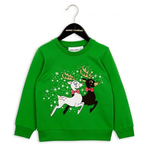 mini rodini xmas 2016 green sweater
