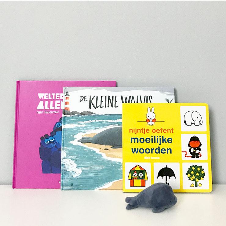 nieuwe kinderboeken: de kleine walvis - nijntje oefent moeilijke woorden - welterusten allemaal