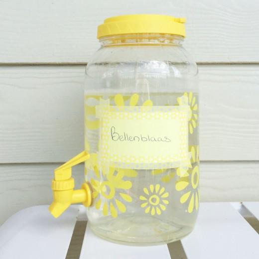 Mamalifestyle bellen blazen limonadetap - recept bellenblaas