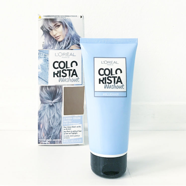 loreal colorista bluehair