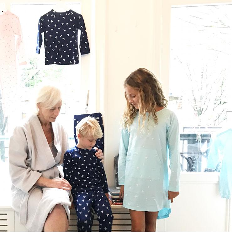 ten cate perspresentatie kindernachtkleding pyjama