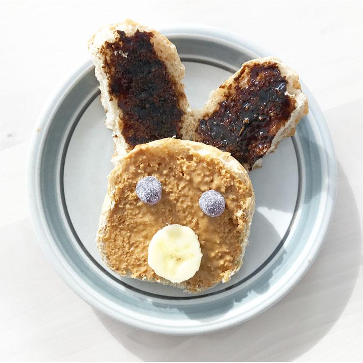 dieren broodjes konijn