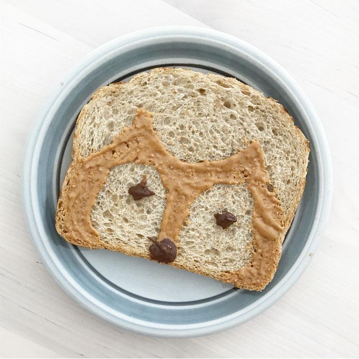 dieren broodje vos