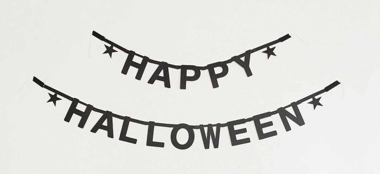 diy banner happy halloween mamalifestyle