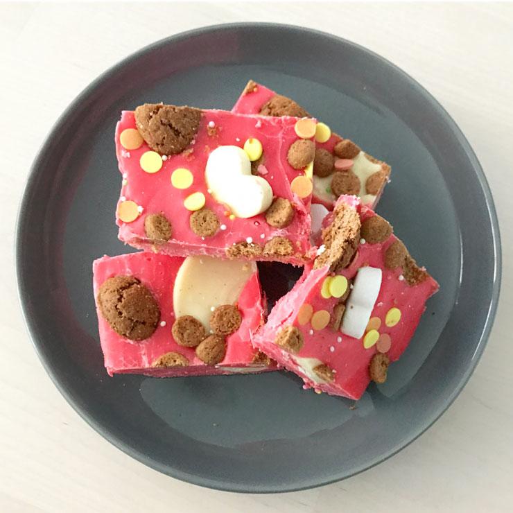 sinterklaas rocky road sinterklaas recept kruidnoten witte chocolade