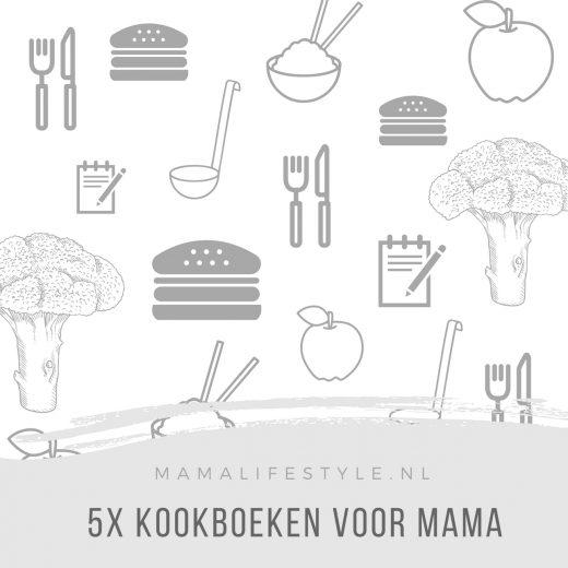 5X kookboeken mama moederdag