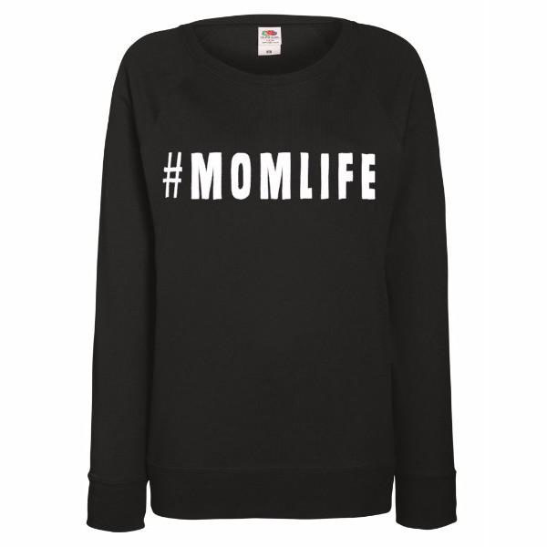 momlife sweater gele flamingo