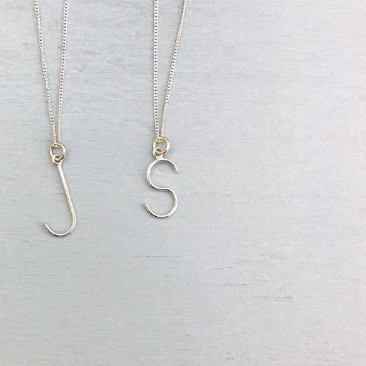 sticktails initialen ketting naamketting mama