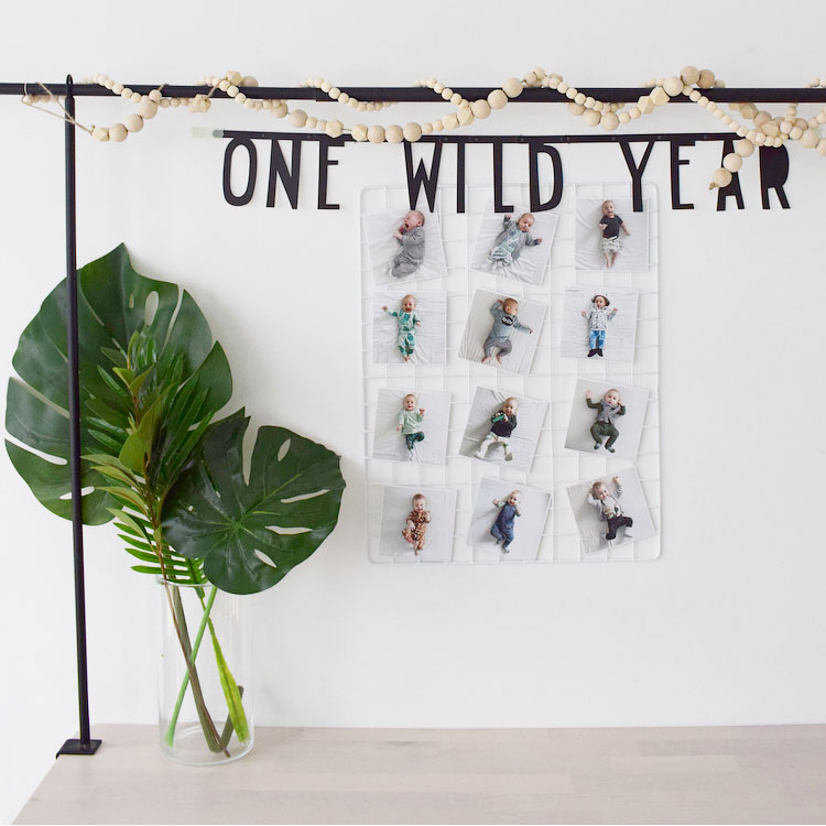jungle feest one wild year tafelklem