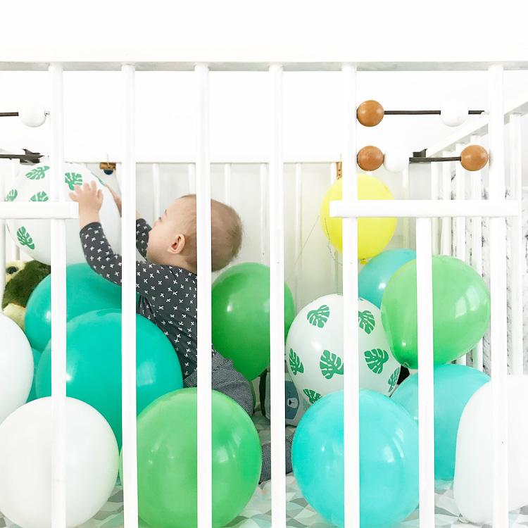 senne jungle party ballonnen box