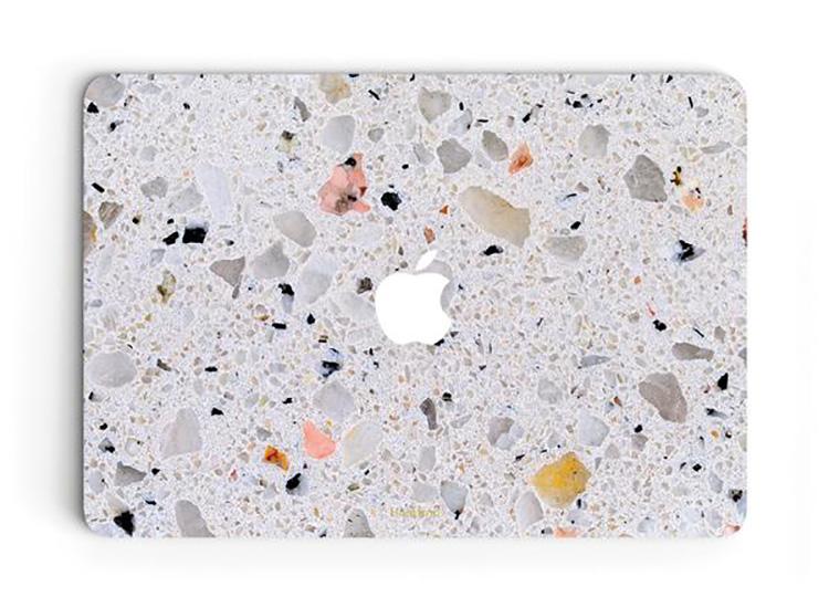 uniqfind MacBook Terrazzo case