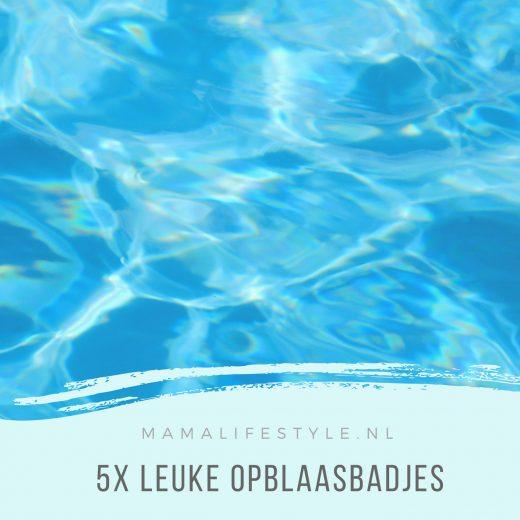 5X leuke opblaaszwembad