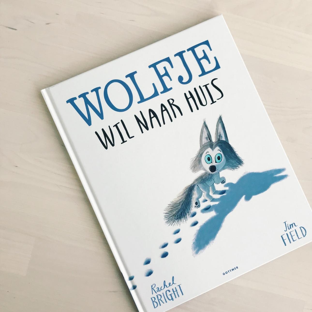 kinderboekenweek - wolfje wil naar huis boek