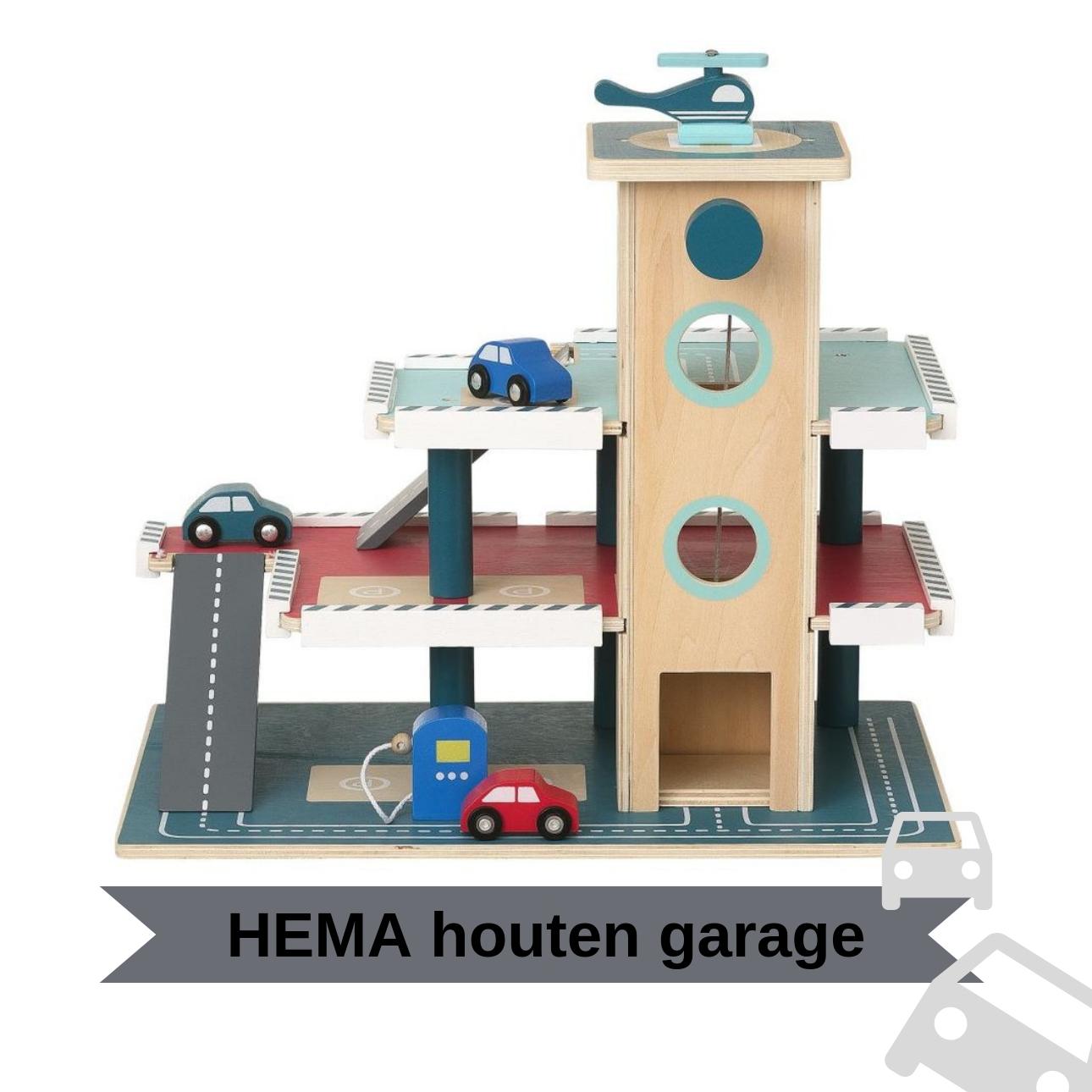 hema houten garage houten speelgoed