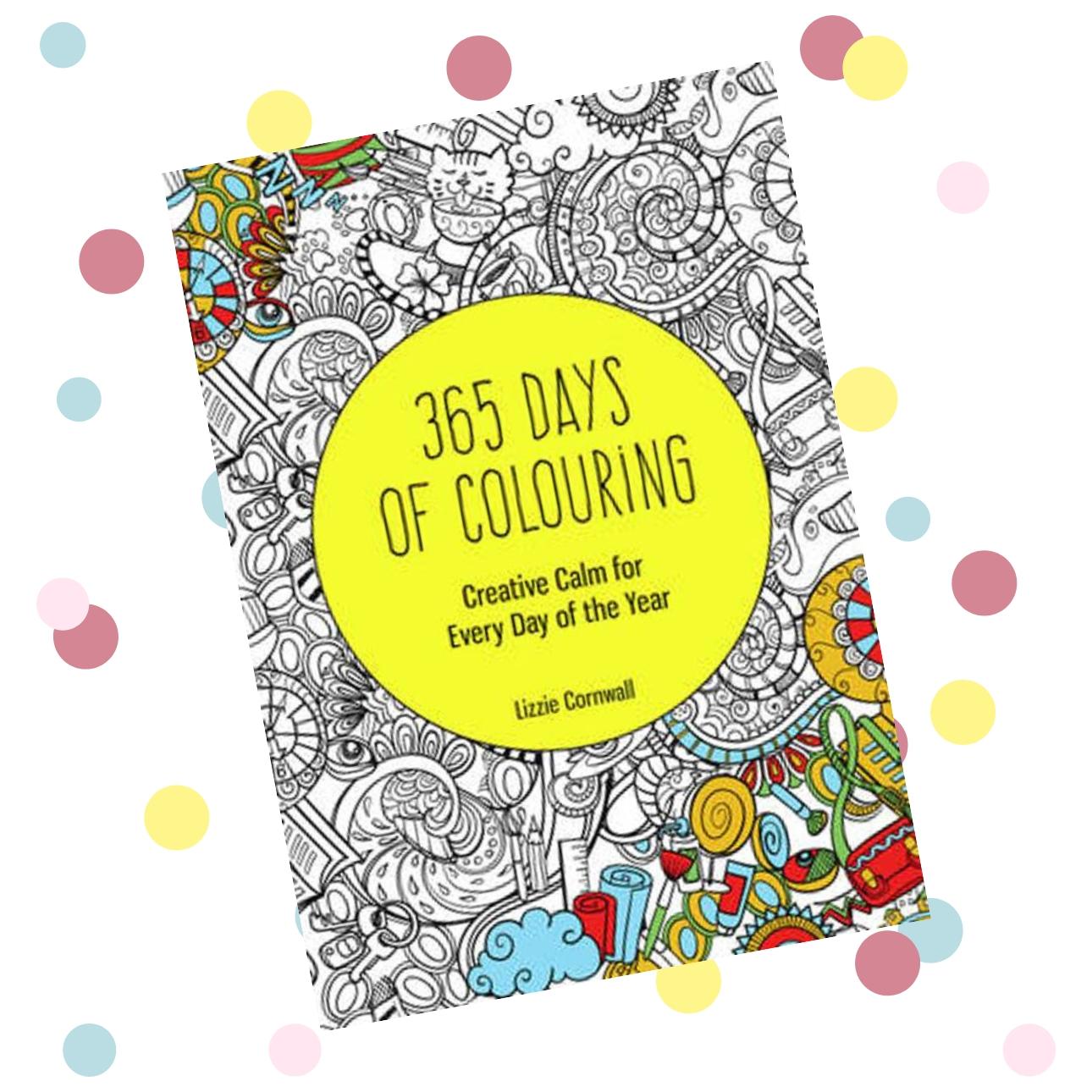 creatieve dagboeken 365 days of colouring