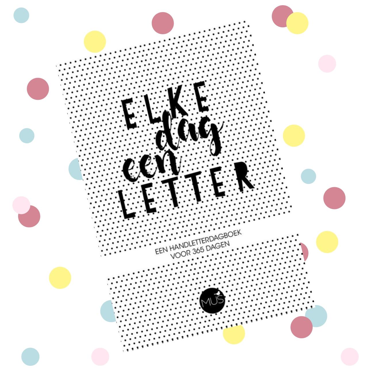 creatieve dagboeken elke dag letter