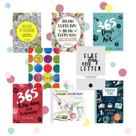 creatieve dagboeken invulboeken kleurboeken