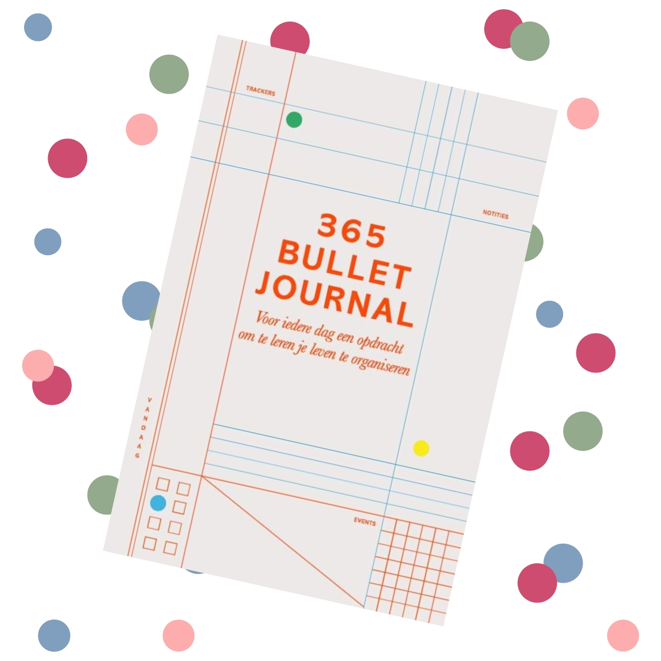 dagboeken wishlist - 365 bullet journal