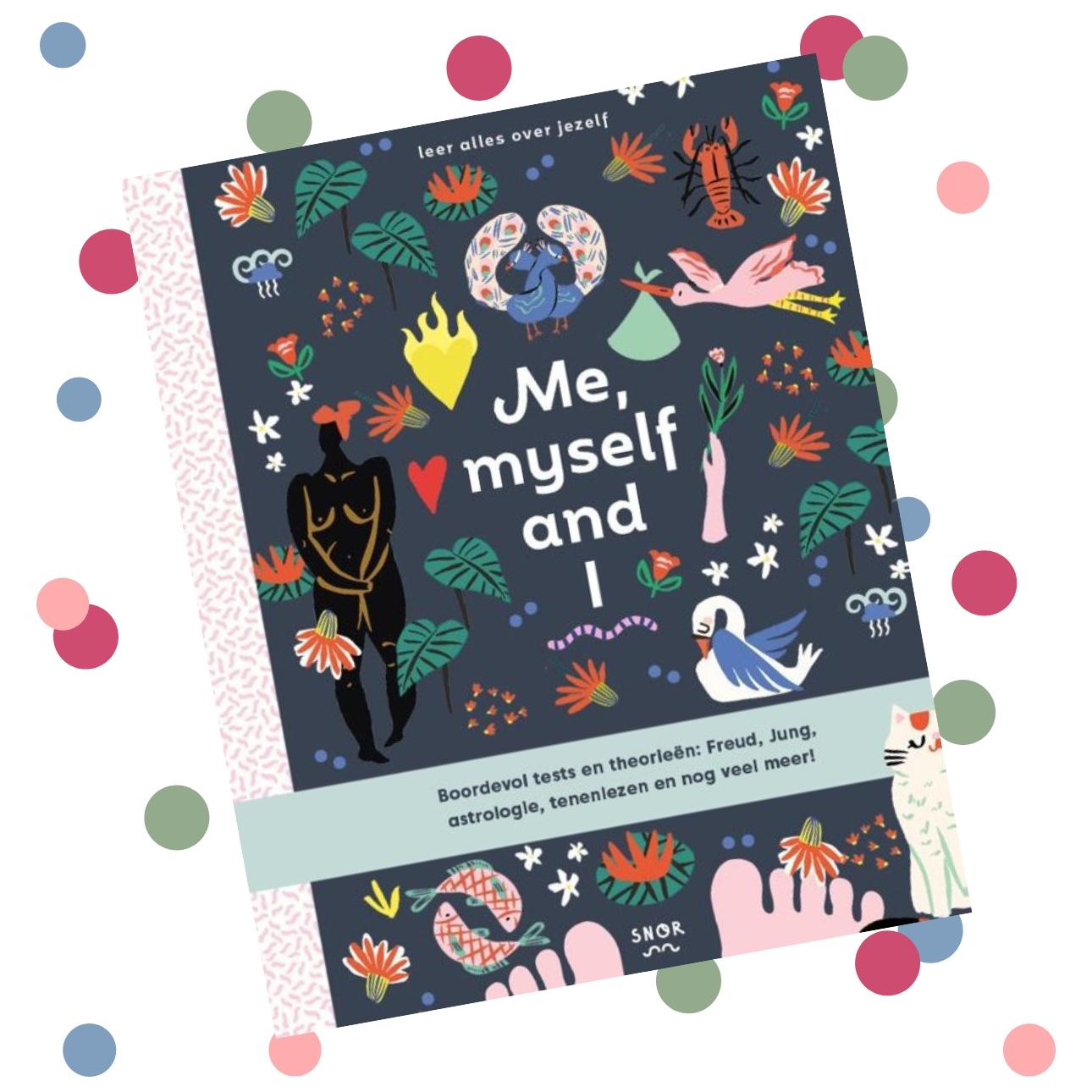 dagboeken wishlist - me myself and i boek