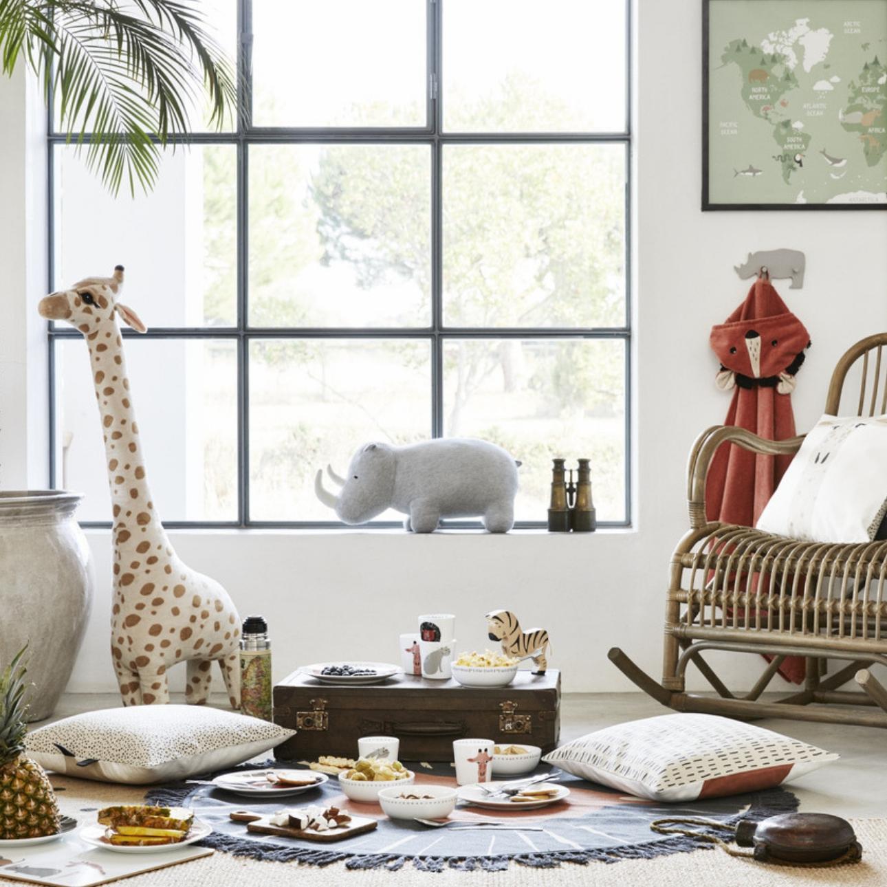 hm home jungle dierenkamer