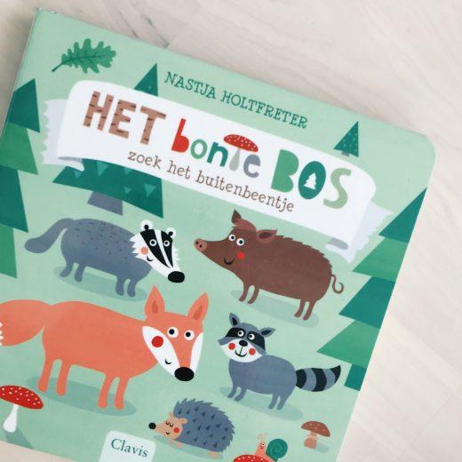 kinderboek het bonte bos clavis