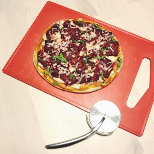 magioni groentepizza rode biet