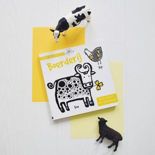 kartonboek wee gallery boerderij schuifboek