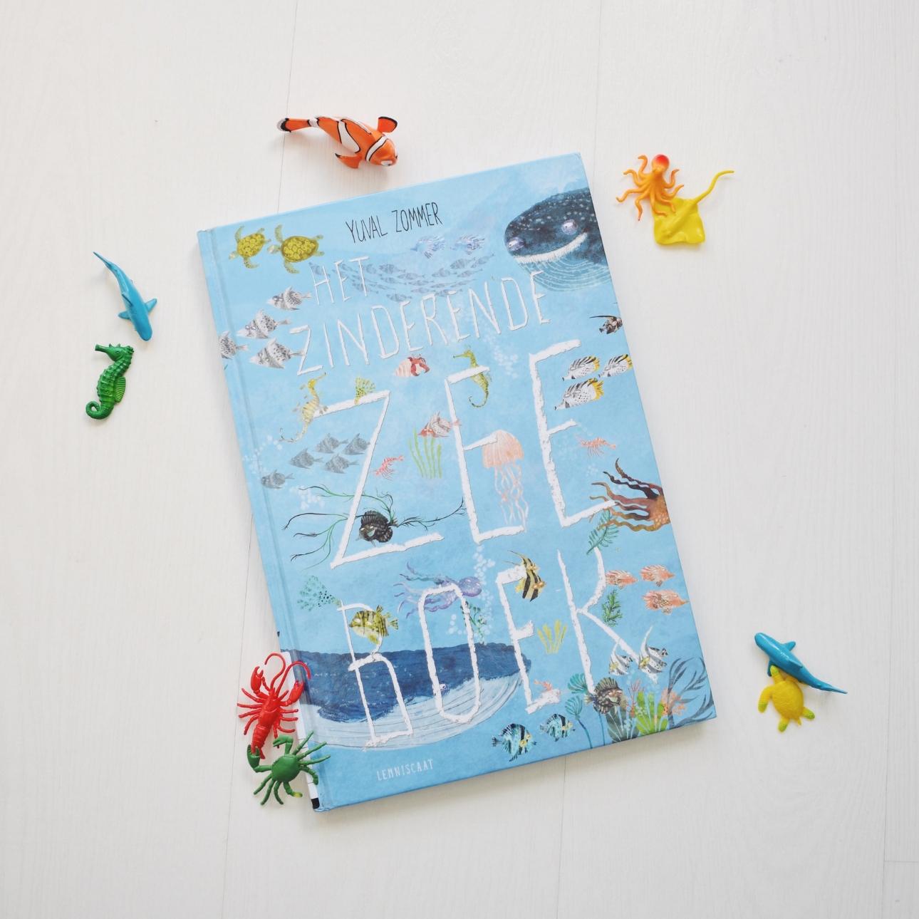 prentenboek zinderende zee boek voorleesboek