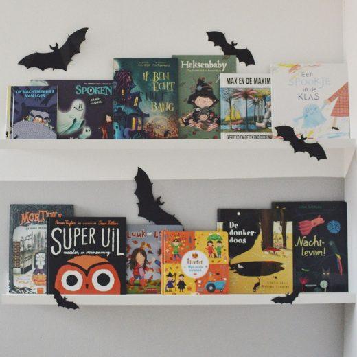 Halloween kinderboeken griezelen spannend