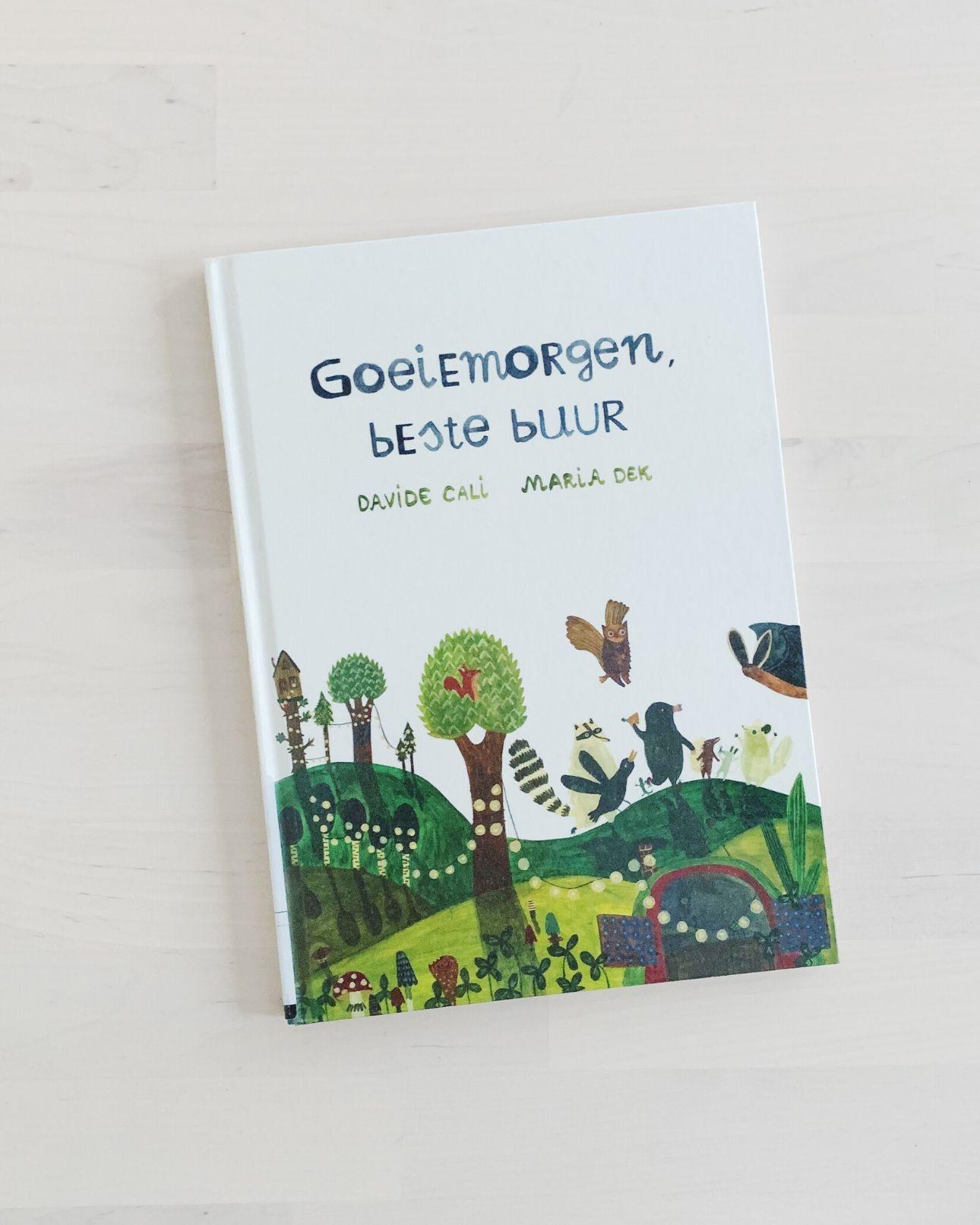 Kinderboek Goeiemorgen, beste buur