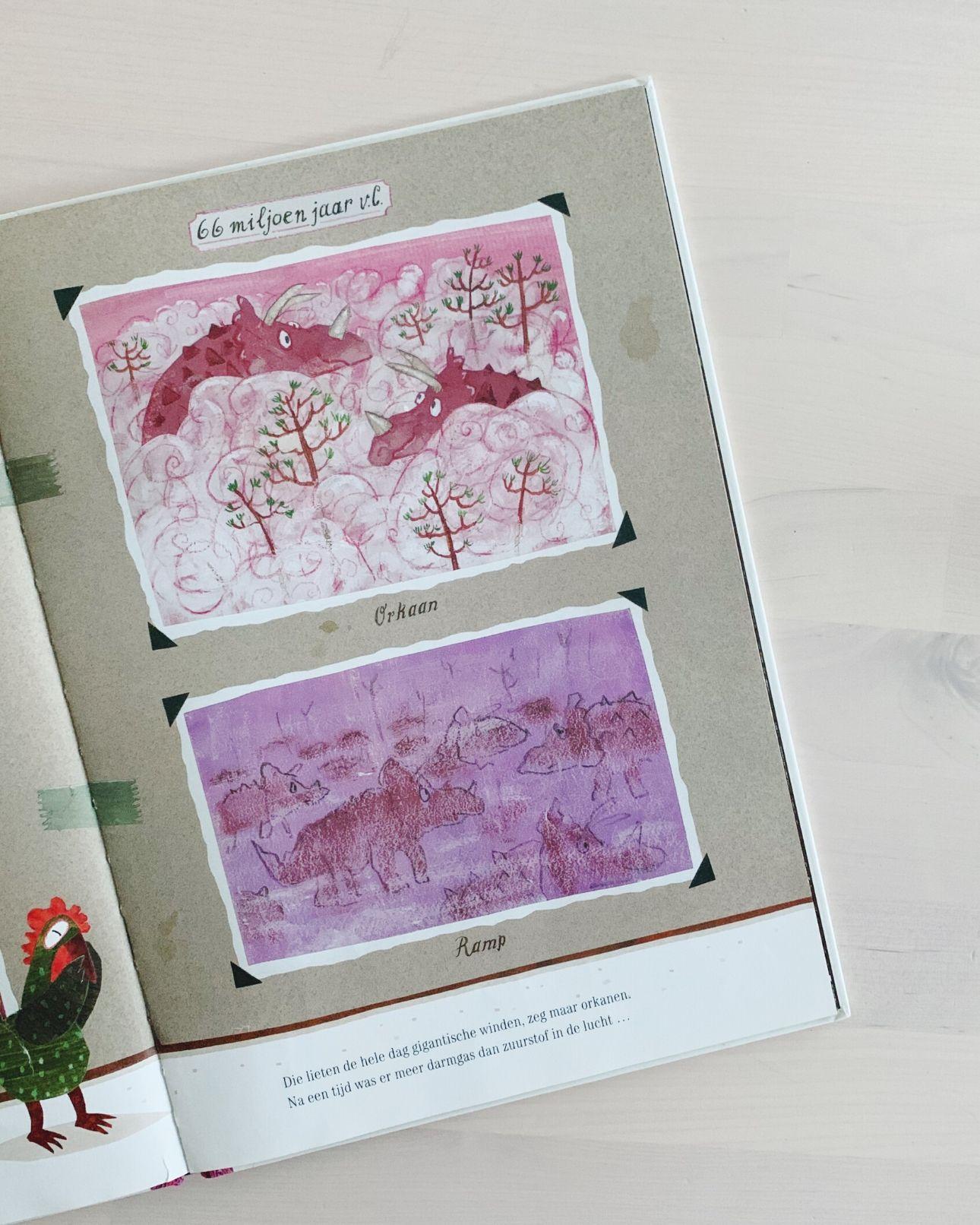 Kinderboek Het ongeloofelijke maar waargebeurde verhaal over de dino's (1)