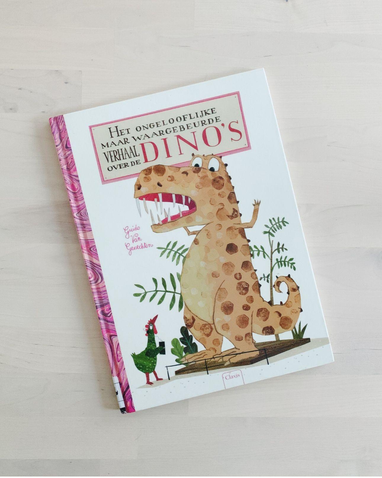 Kinderboek Het ongeloofelijke maar waargebeurde verhaal over de dino's