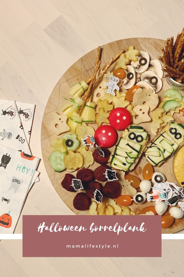 Pinterest - halloween borrelplank
