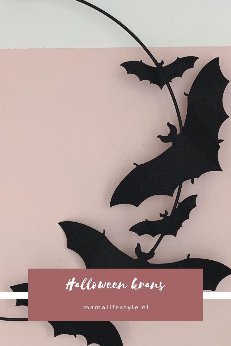 Pinterest - halloween krans vleermuizen (1)