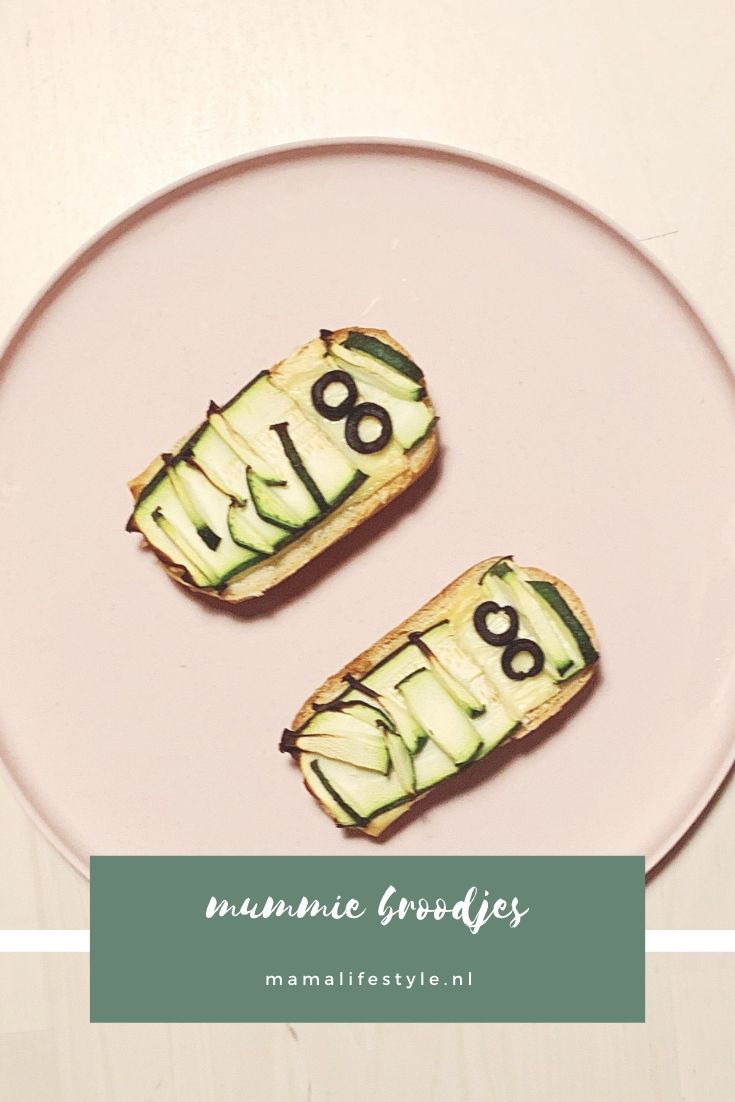 Pinterest - halloween mummie broodjes