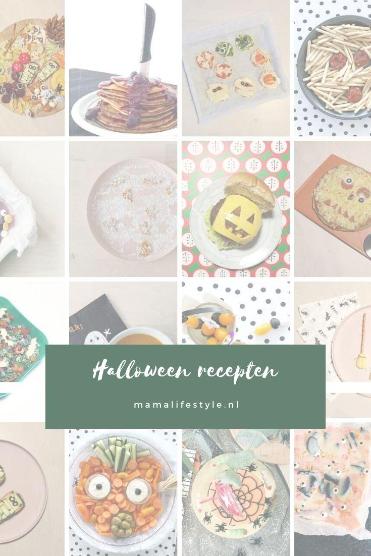 Pinterest - halloween recepten