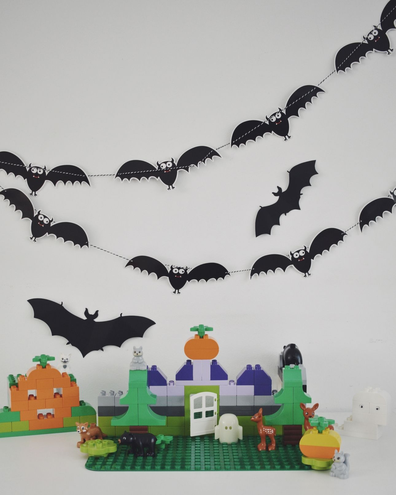 halloween spookhuis duplo