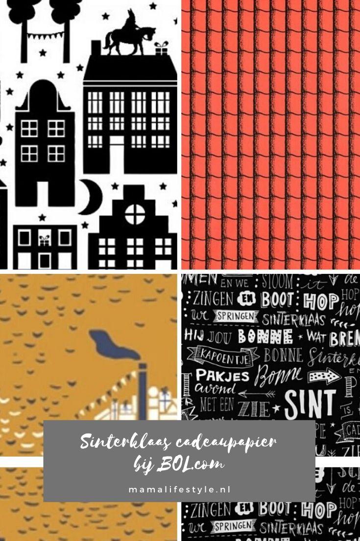 Pinterest - sinterklaas cadeaupapier bol.com
