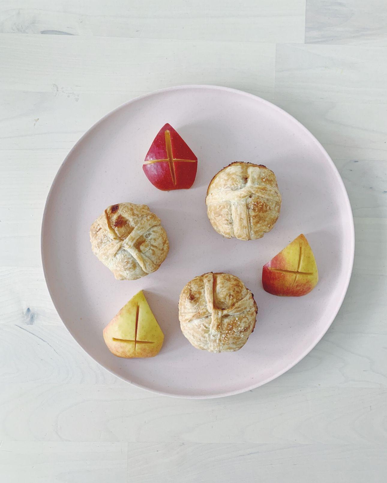 Sinterklaas cadeau appelflappen appel mijters