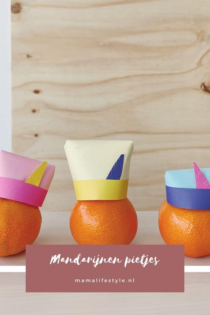 Pinterest - Sinterklaas mandarijnen pietjes (1)