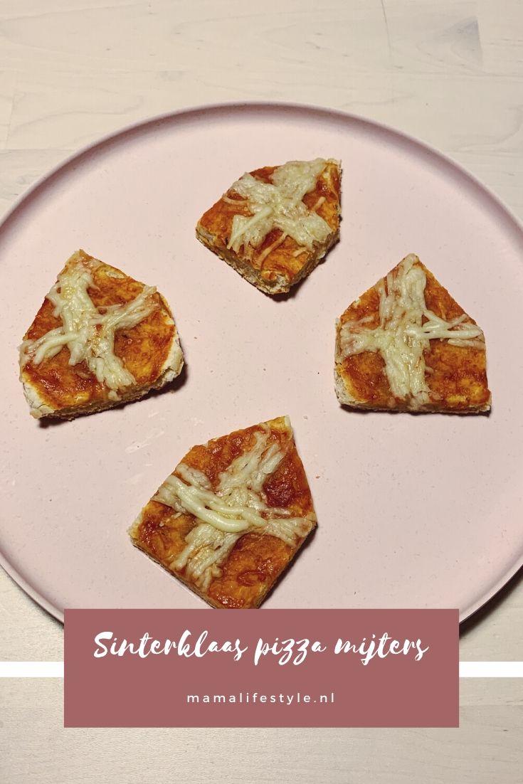 Pinterest - Sinterklaas pizza mijters