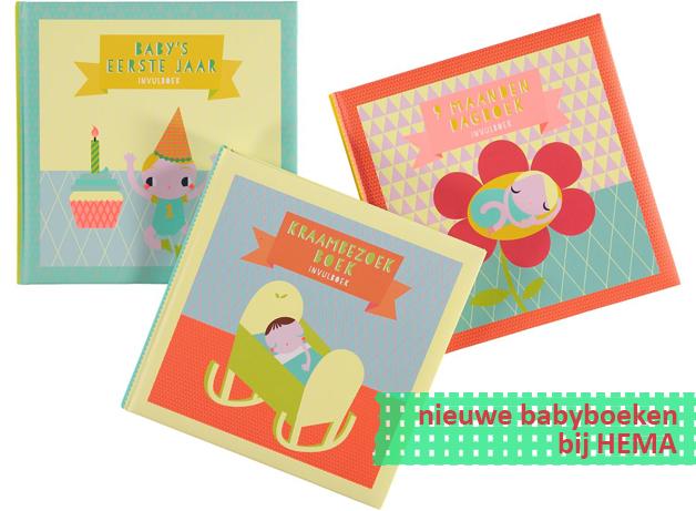 Hema babyboeken